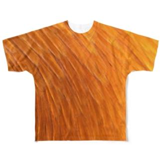 ニクオスT総柄 Full graphic T-shirts