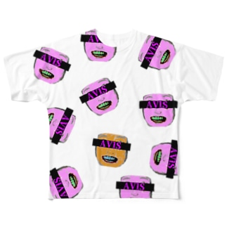 ブラクラfunny Full graphic T-shirts