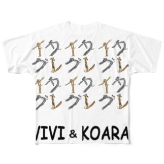vivikoaraさま Full graphic T-shirts