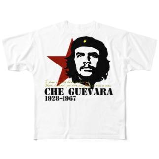 GUEVARA ゲバラ Full graphic T-shirts