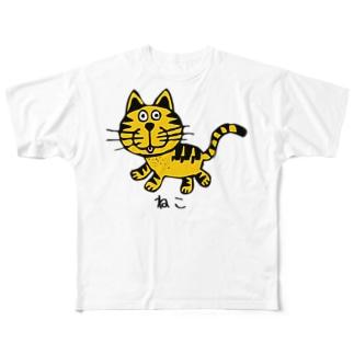 NEKO ねこ Full graphic T-shirts