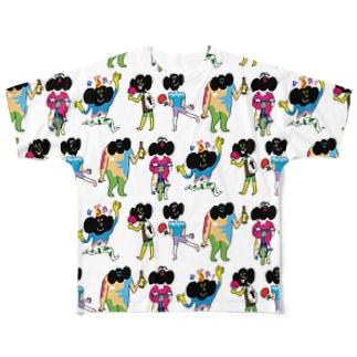 カラフルベルちゃん Full graphic T-shirts