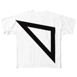三角 Full graphic T-shirts