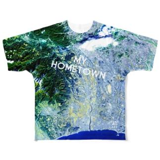 神奈川県 厚木市 Tシャツ 両面 Full graphic T-shirts