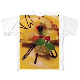 スウィーツタイム Full graphic T-shirts