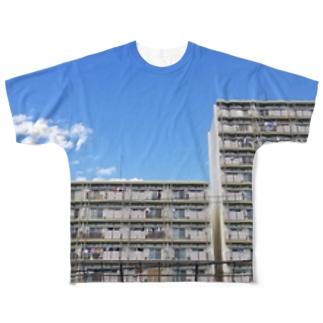 I住宅 Full graphic T-shirts
