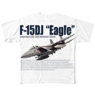 F-15DJ Full graphic T-shirts