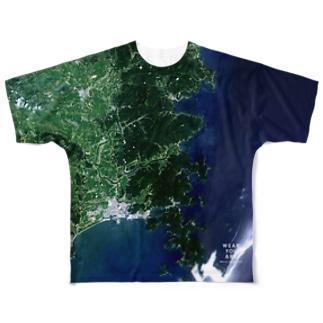 宮城県 石巻市 Tシャツ 両面 Full graphic T-shirts