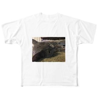 ももちゃん Full graphic T-shirts