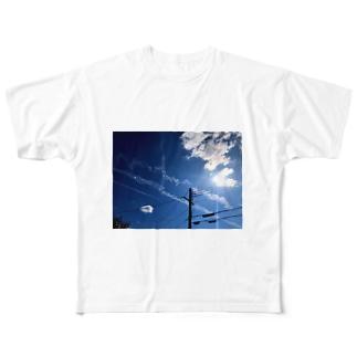 青空 Full graphic T-shirts