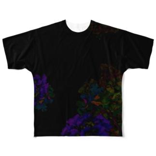 AJISAI Full graphic T-shirts