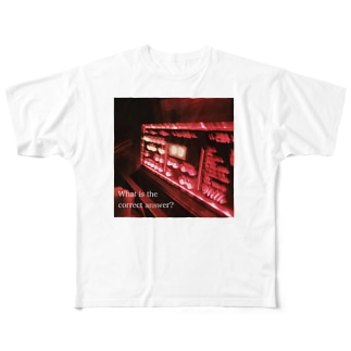 何が正解か。 Full graphic T-shirts