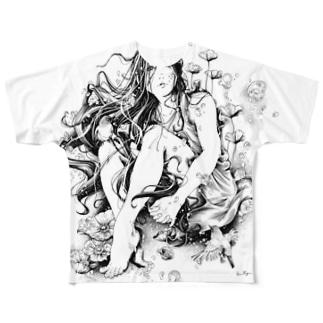 オリジナルTシャツ 「君の夏」 Full graphic T-shirts