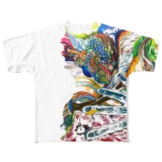 エネルギー Full graphic T-shirts