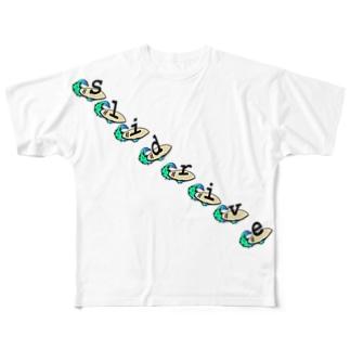 Slisurf PART2 T-Shirts Full graphic T-shirts