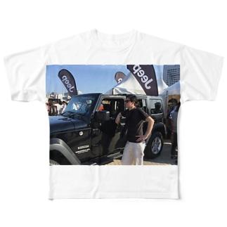 伊勢田カッコいいTシャツ Full graphic T-shirts