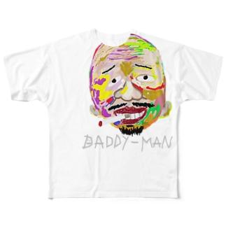【Big face】フルグラフィックt Full graphic T-shirts