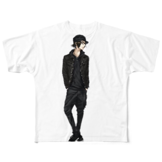 「Another dimension」 fizz BEYOND x さはる Full graphic T-shirts