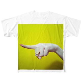 罪深い手001 Full graphic T-shirts