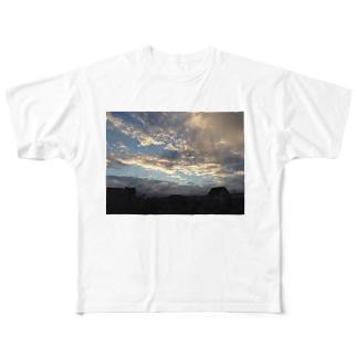 天気 Full graphic T-shirts