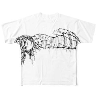 かなしみ Full graphic T-shirts