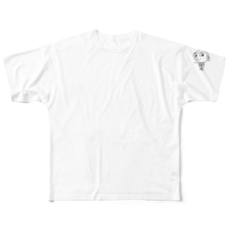 ジロリ    〜charlie 〜   モノクロver. Full graphic T-shirts
