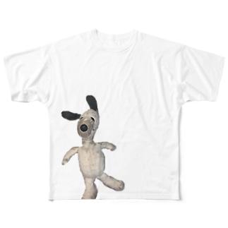 大事なスヌちゃん Full graphic T-shirts