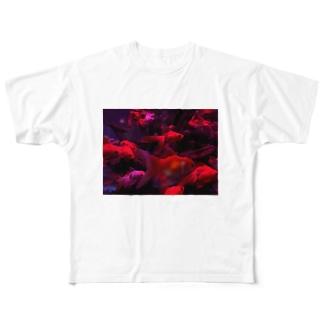 金魚 Full graphic T-shirts