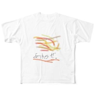 あきかぜ。 Full graphic T-shirts