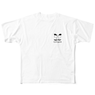 はなめがね 鼻メガネ  Full graphic T-shirts