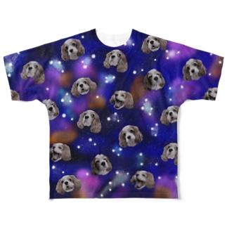 キャバリアギャラクシー Full graphic T-shirts