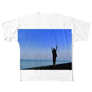 万歳!! Full graphic T-shirts