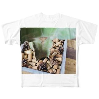 コルク Full graphic T-shirts