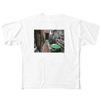 ヴェネツィアの古本屋 Full graphic T-shirts
