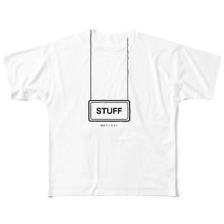 スタフ Full graphic T-shirts