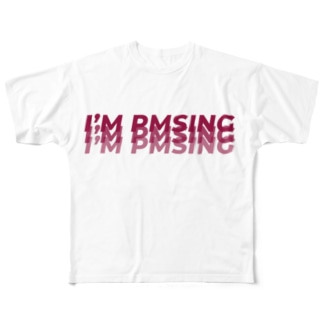 I'M PMSING(私いまPMSなんだ) Full graphic T-shirts