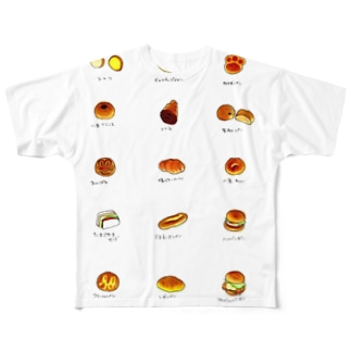 パン Full graphic T-shirts