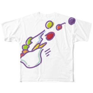 スピードあんみつ Full graphic T-shirts