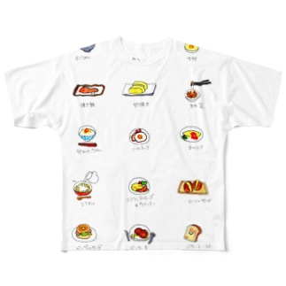 モーニング Full graphic T-shirts