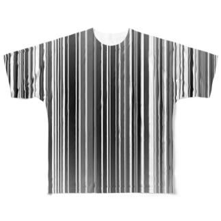 超いい感じのストライプ Full graphic T-shirts