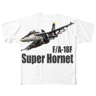 F/A-18F Super Hornet Full graphic T-shirts