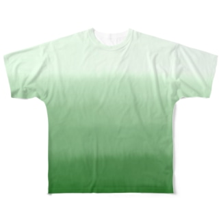 芝生 Full graphic T-shirts