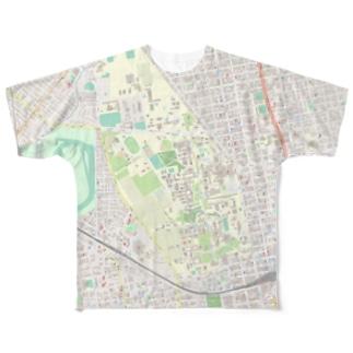 北海道大学札幌キャンパス&ストームの歌 Full graphic T-shirts