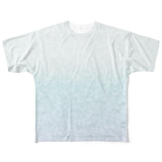うっすらドット Full graphic T-shirts