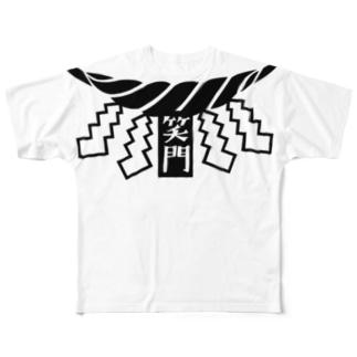 封コロナ~しめ縄~ Full graphic T-shirts