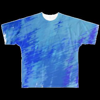 雨城くんの空を閉じ込めれるもの Full graphic T-shirts