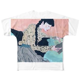 ネムイ ネムイ Full graphic T-shirts