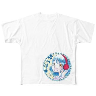 森川淳未☆ライブ育休中の森川淳未☆オリジナルグッズ Full graphic T-shirts