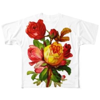 花束 Full graphic T-shirts