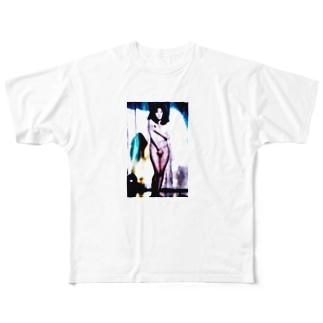身勝手なマグマ、ヌードの殿堂へ初めての旅(2013) Full graphic T-shirts